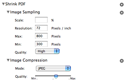 reduce pdf file size mac without losing image quality