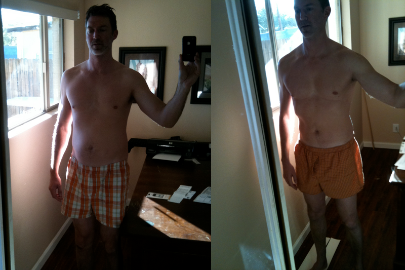 One month fast results