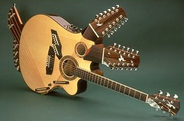 Pat Metheny Pikasso 42-string guitar