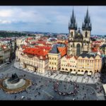 Above Prague Old Town Square - photo credit: Cara Maloney