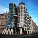 Frank Gehry's Dancing House - photo credit: Jason Kirchhoff