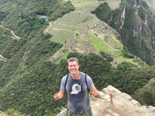 Hiking Huayna Picchu, Peru